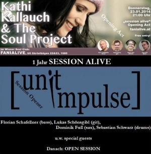 23.01.2014 Kathi Kallauch&The Soul Project